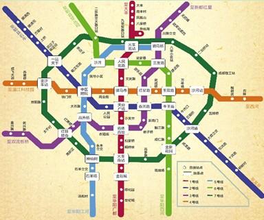 成都市地铁3号线线路图片 成都市地铁3号线线路图片大全 社会热点图图片