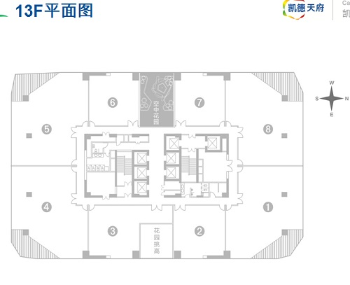 青岛凯德平面图